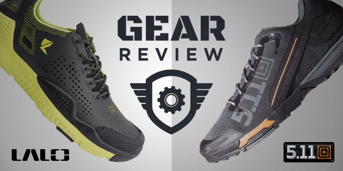 STEP UP YOUR SHOE GAME: LALO Grinders and 5.11 Recon Trainers
