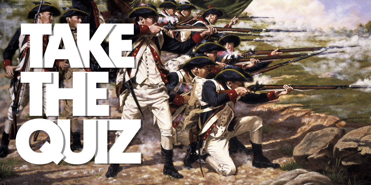 Test Your Revolutionary War Knowledge!
