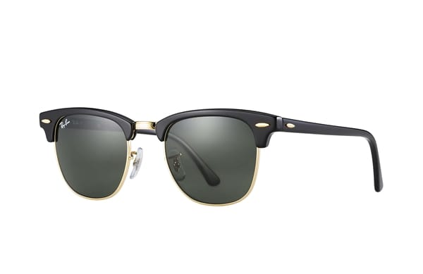 u.s. military issue oakley sunglasses  208157_clubmaster_sunglasses_clubmaster_sunglasses_top_blackgold_rimcrystal_green_rb3016_w036549_t600